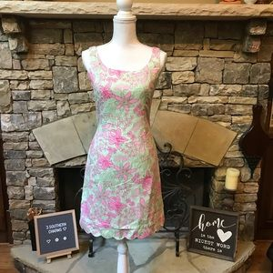 Vintage Lilly Pulitzer Dress in Mary Mary Print 4